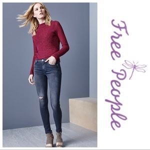 Free People Crossover Sweater